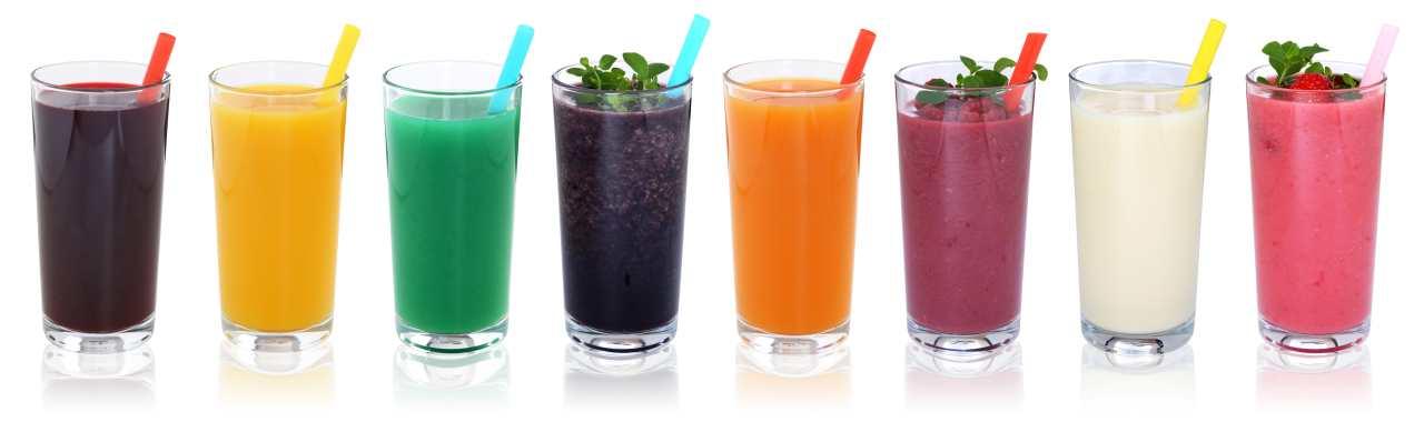 forskellige juice opskrifter til juicekur og Detox