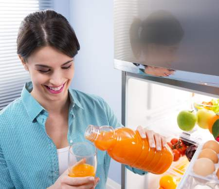 Holdbarhed af koldpressede juicer
