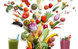 det rigtige Juice mix af frugt og grøntsager
