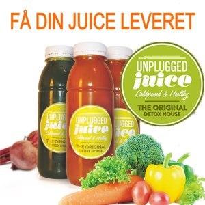 Unplugged juice - juice leverandør af frisk presset juice