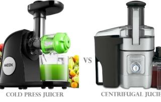 Juice maskine med lav hastighed